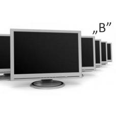 Vegyes 19 TFT monitorok - B2 kategória